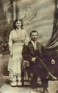 John & Mary Kobler about 1875