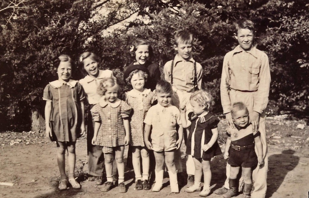 Kobler Children in late 1930s
