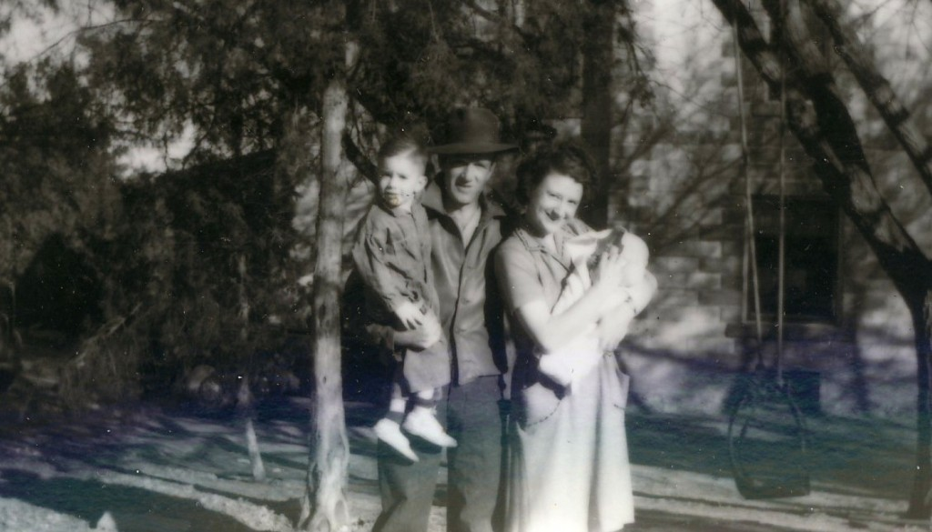 Otto & Helen Kobler with son Jerry & daughter Ann